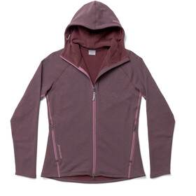 Houdini Outright Houdi Fleece Jacket Dame red illusion